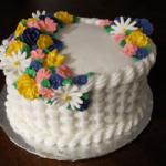 Course #2 – Royal Icing Flowers & Basketweave