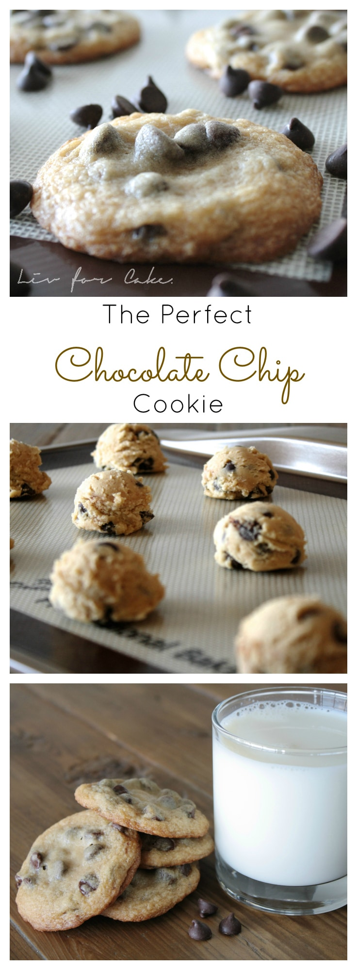 The perfect soft & chewy chocolate chip cookies with a special ingredient that takes them over the top! | livforcake.com