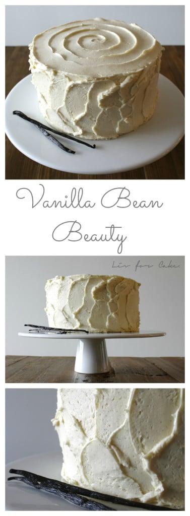 Vanilla Bean Beauty | livforcake.com