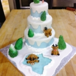 The Pastry Diaries: Week 13: Fondant Cakes