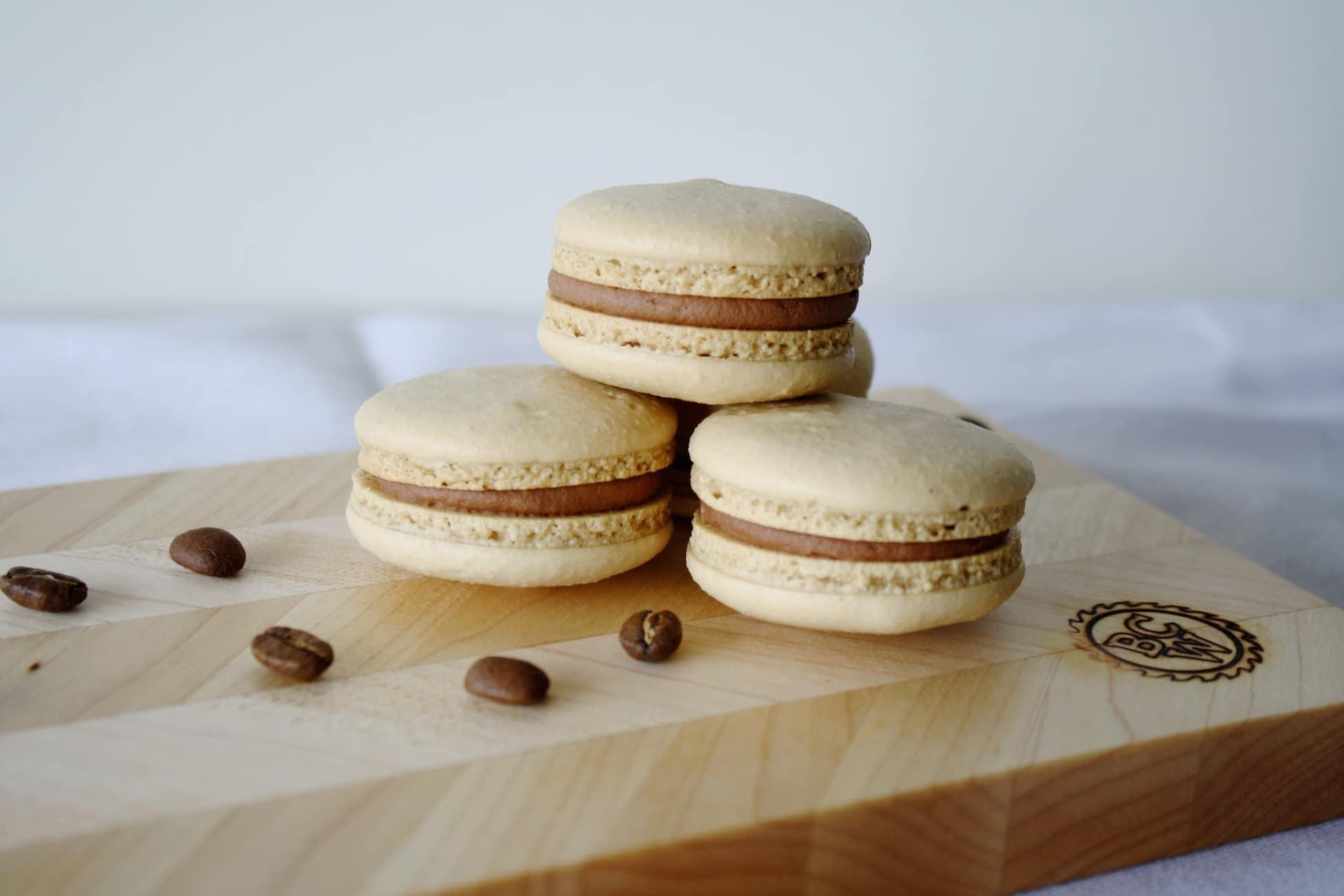Coffee Macarons Recipe | Mom'-s Dish
