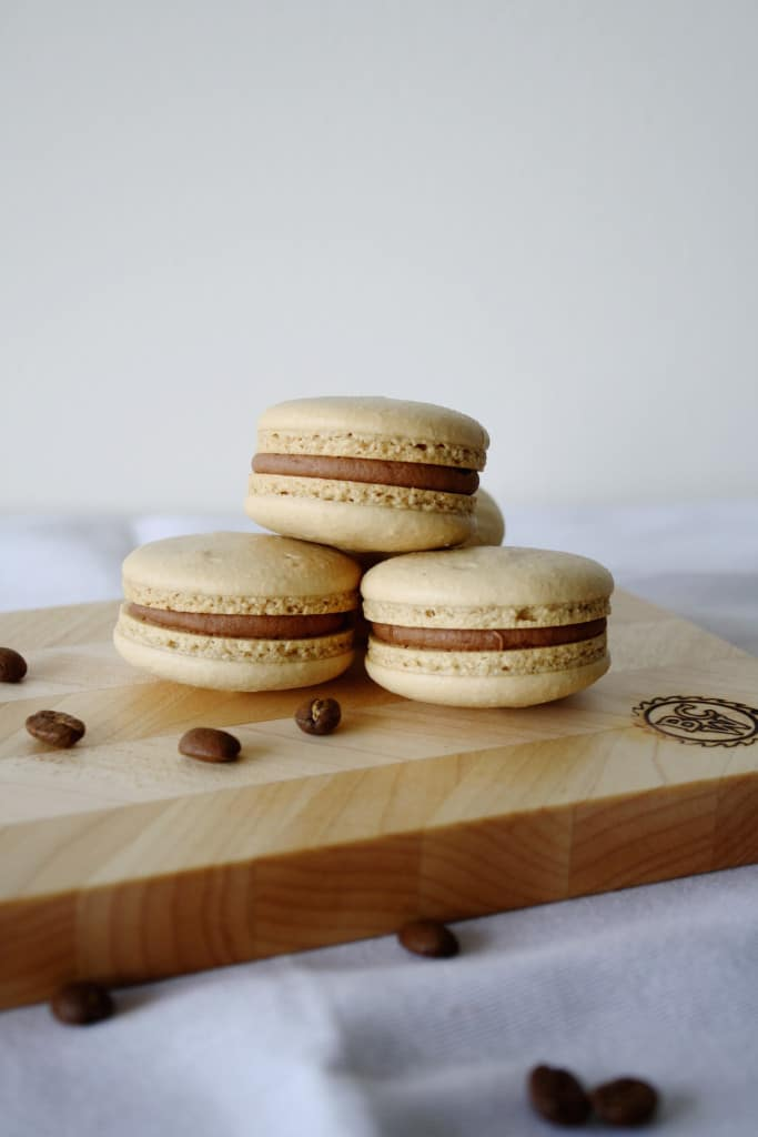 12 Coffee Dessert Recipes For Caffeine Enthusiasts - Coffee & Baileys Macarons