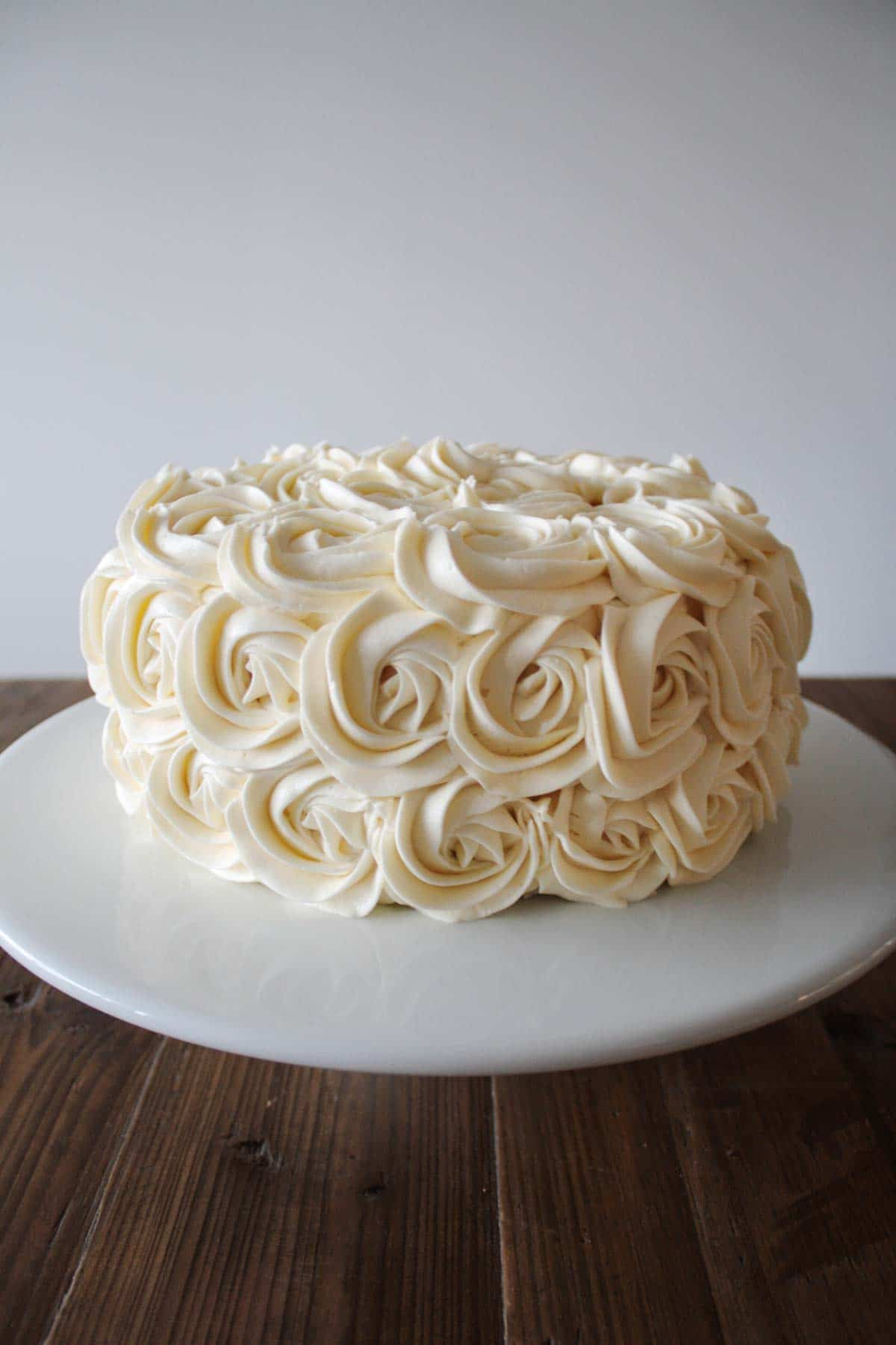 Simple Vanilla Buttercream Liv For Cake
