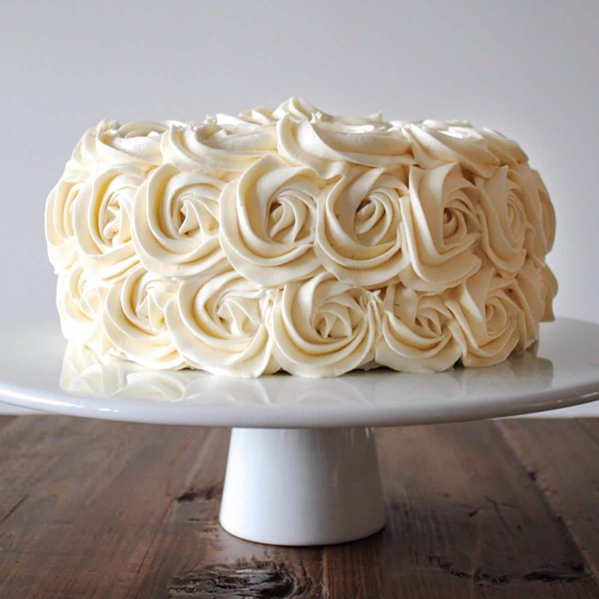 Simple Vanilla Buttercream American Buttercream Recipe Liv For Cake