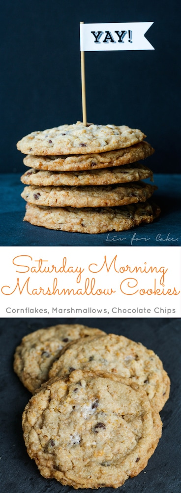 Momofuku Milk Bar's signature cornflake chocolate chip marshmallow cookies are a perfect reminder of what Saturday mornings were like as a kid. | livforcake.com