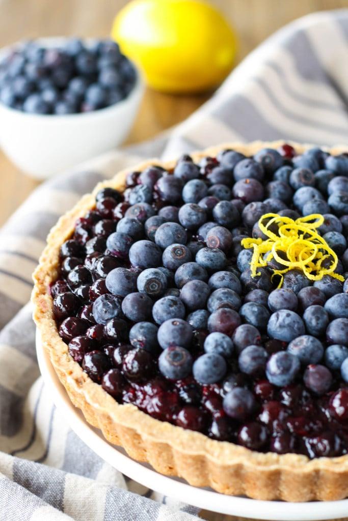 Blueberry Tart - Liv for Cake