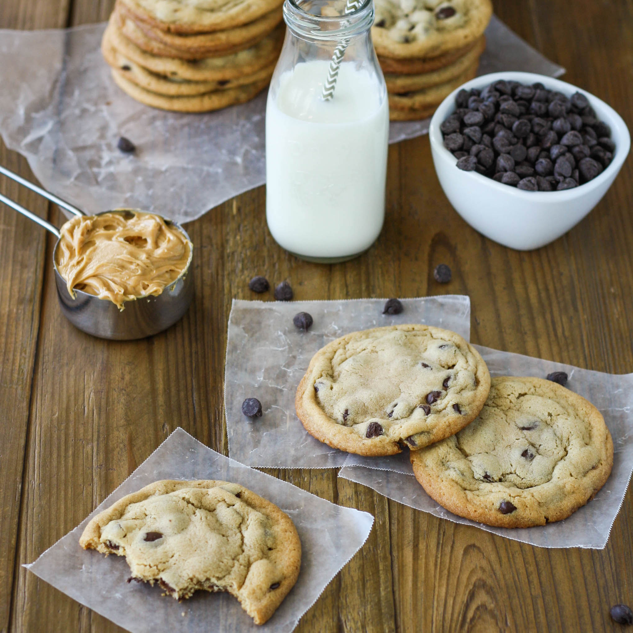 Peanut Butter Chocolate Chip Cookies Liv For Cake