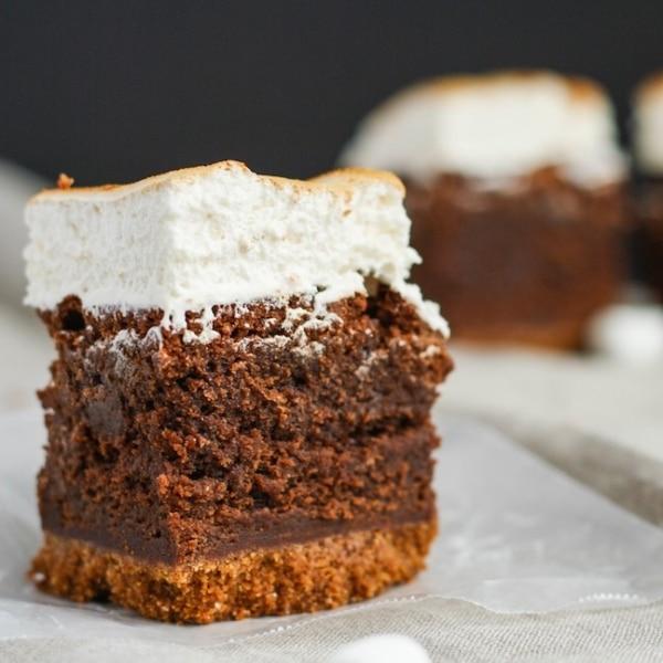 S'mores brownies | livforcake.com