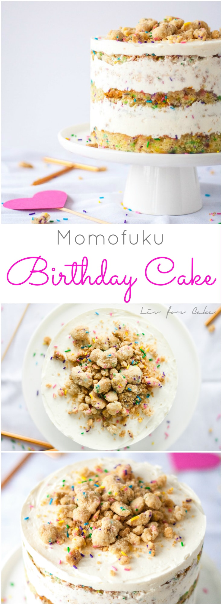 Milk Cookies Cake The Ultimate Birthday A Sweet Funfetti Topped With Cream Cheese Buttercream