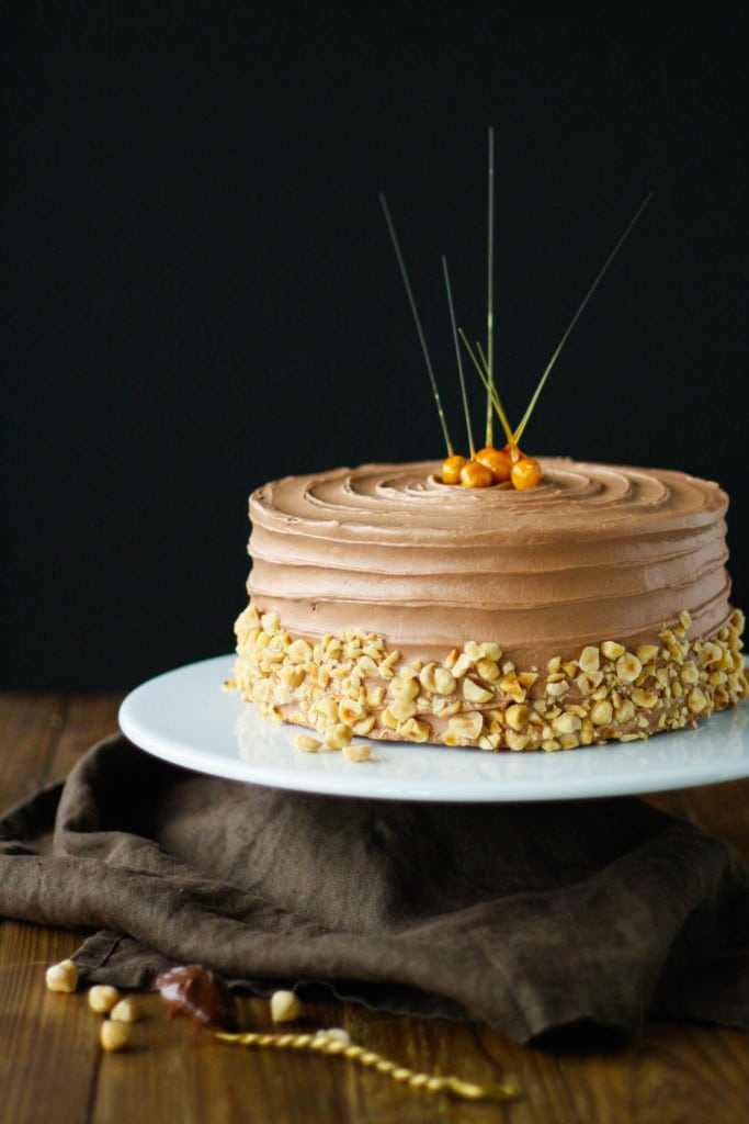 Nutella Hazelnut Cake Liv for Cake