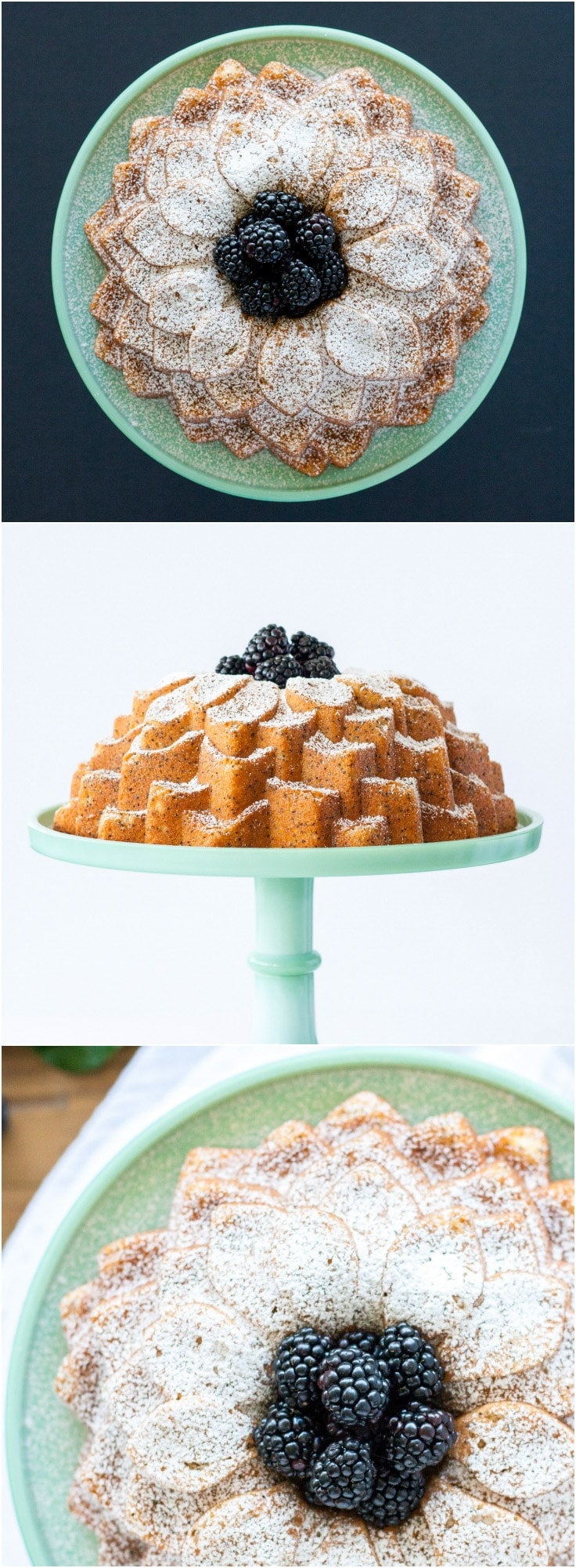 The classic combination of lemon and poppy seed in this delicious bundt. | livforcake.com