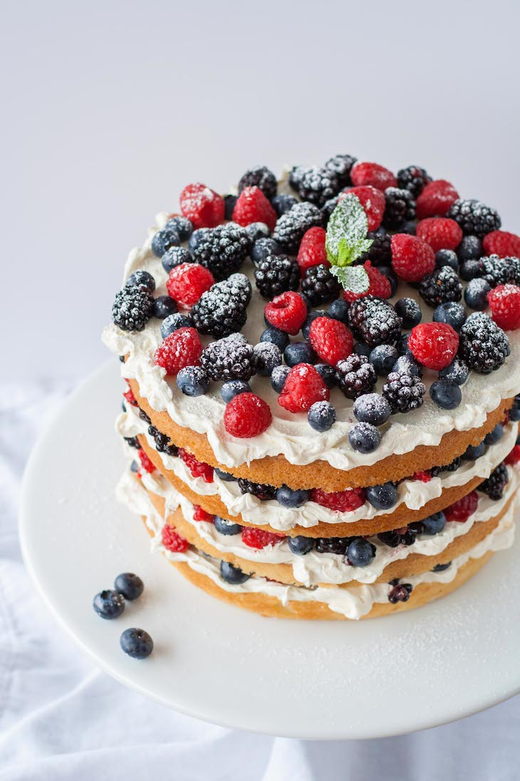 Vanilla Layer Cake From Scratch