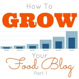 How to Grow Your Food Blog – Part 1 – Sharing