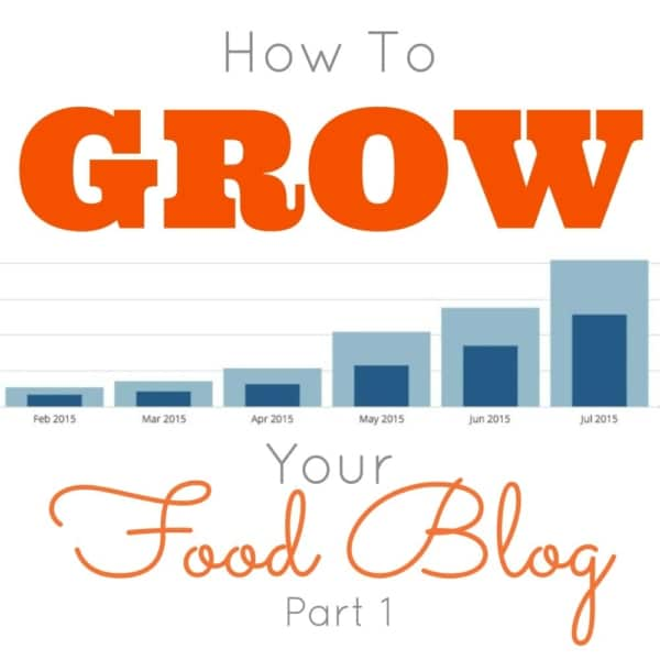 How to GROW Your Food Blog - Part 1 | livforcake.com