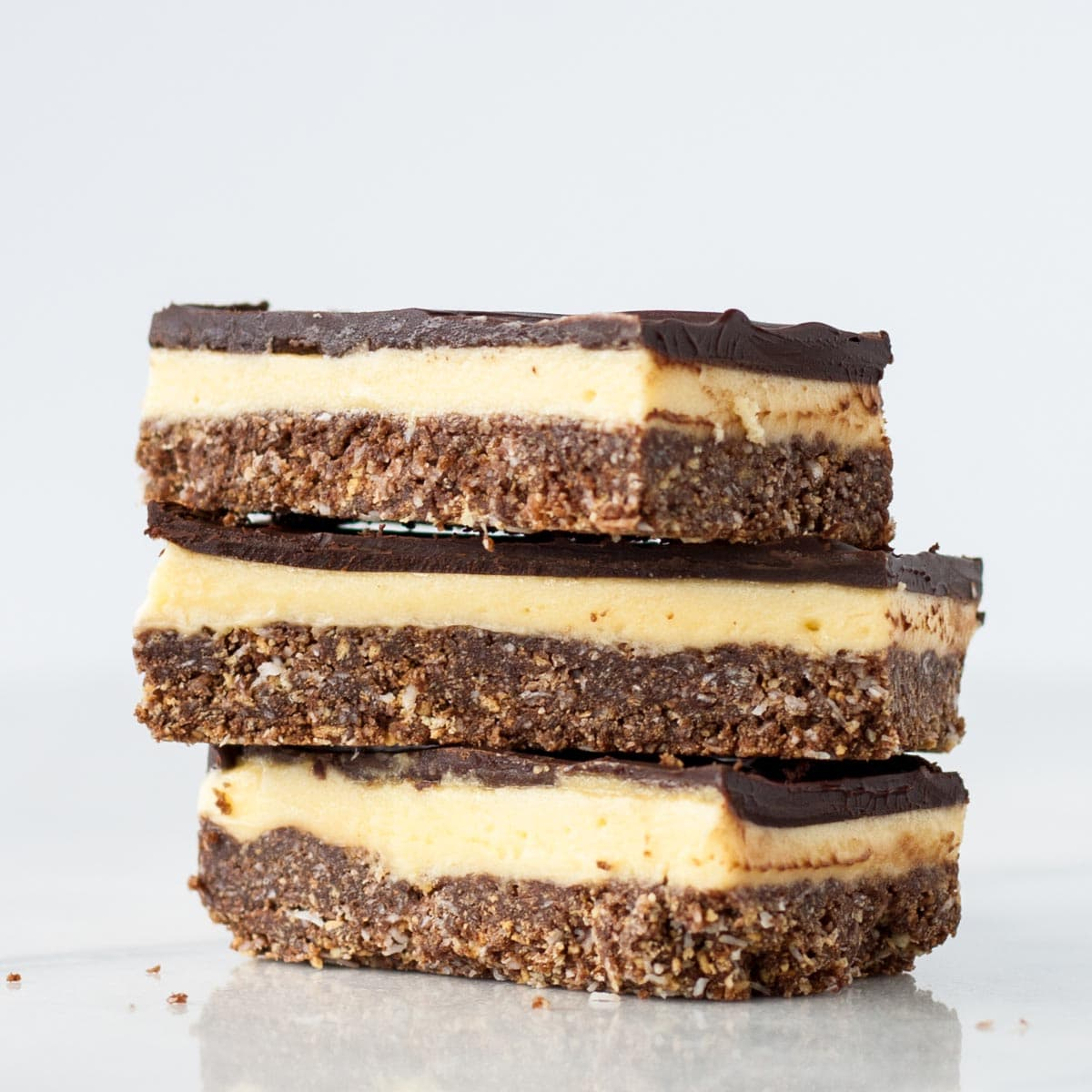 No Bake Nanaimo Bars Liv For Cake