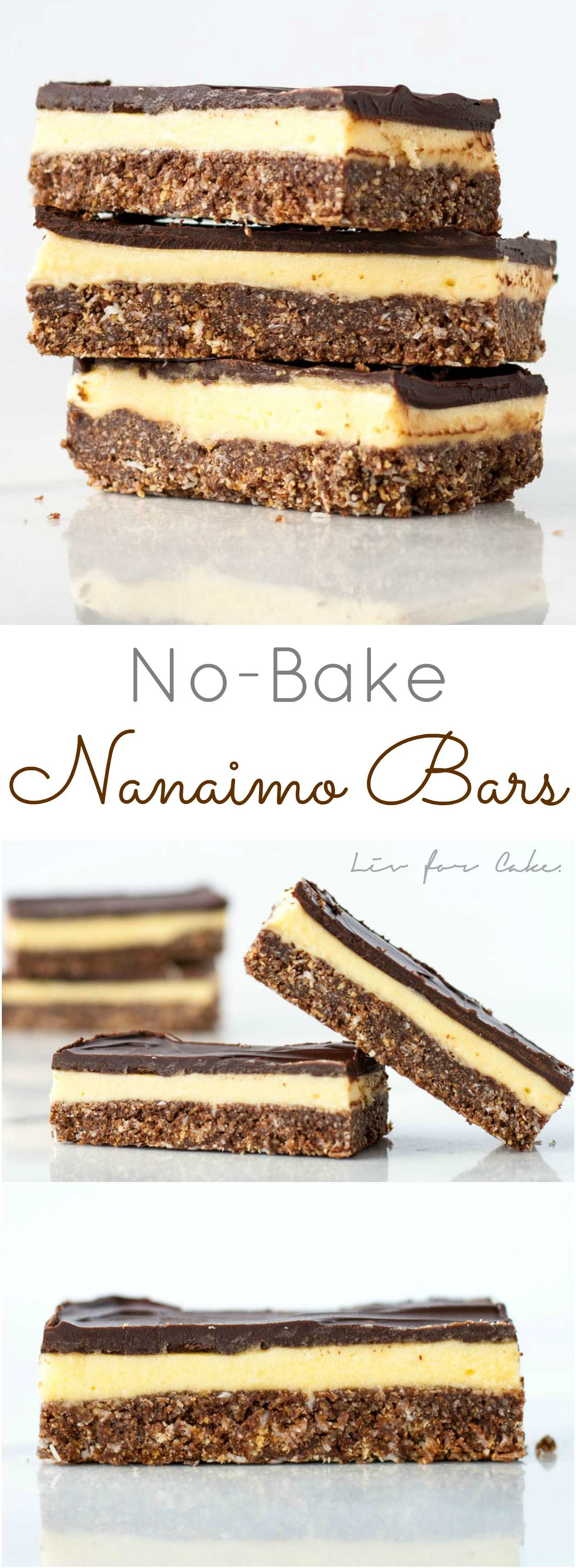 These Nanaimo Bars are AMAZING!! No-bake and super easy to make. One of the best desserts I've EVER had. | livforcake.com
