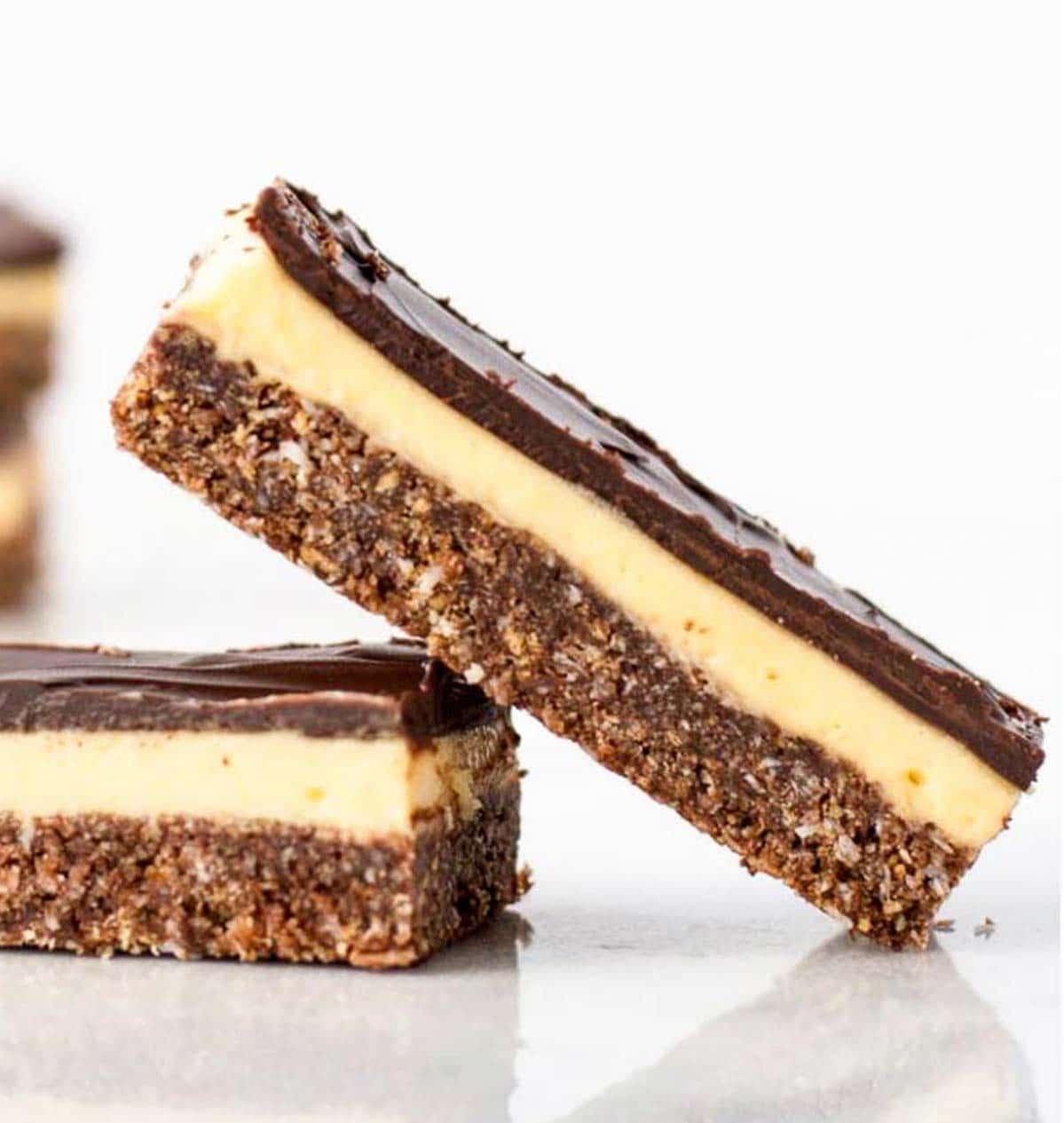 Classic Nanaimo Bars (No-Bake)   Liv for Cake