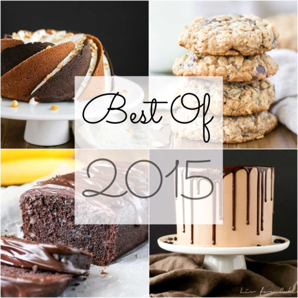 The very recipes on Liv for Cake in 2015. | livforcake.com