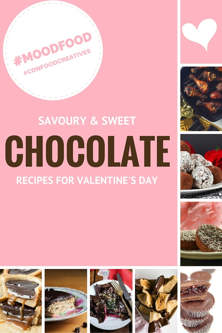 Savoury & Sweet Chocolate recipes for Valentine's Day. | livforcake.com