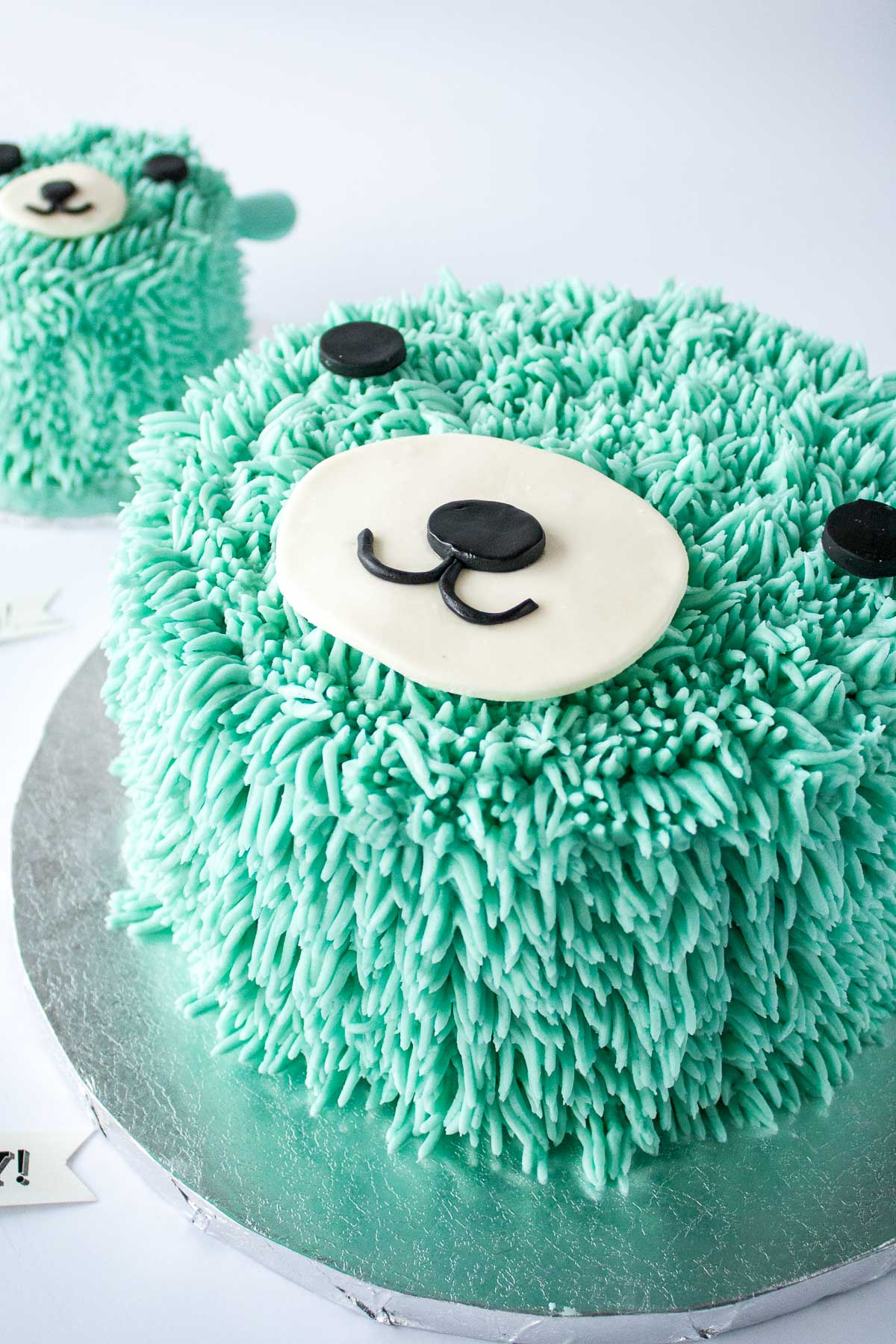 Blue Bear Birthday Cake Liv For Cake
