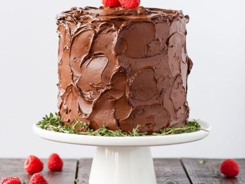 Cool Chocolate Raspberry Cake Liv For Cake Personalised Birthday Cards Arneslily Jamesorg