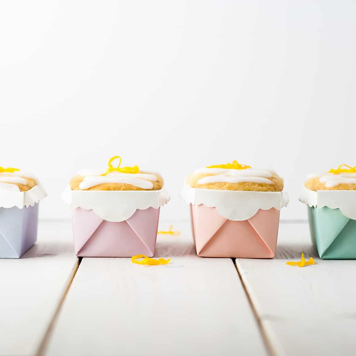 Mini Meyer Lemon Loaves - Liv for Cake