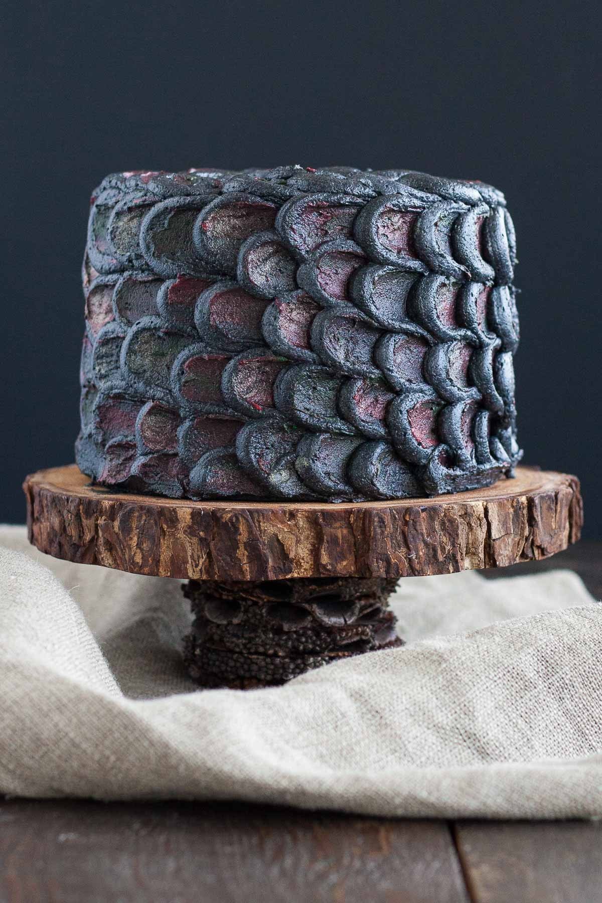 Use This Simple Decorating Technique To Create The Perfect Red Velvet Dragonscale Cake And Impress Your