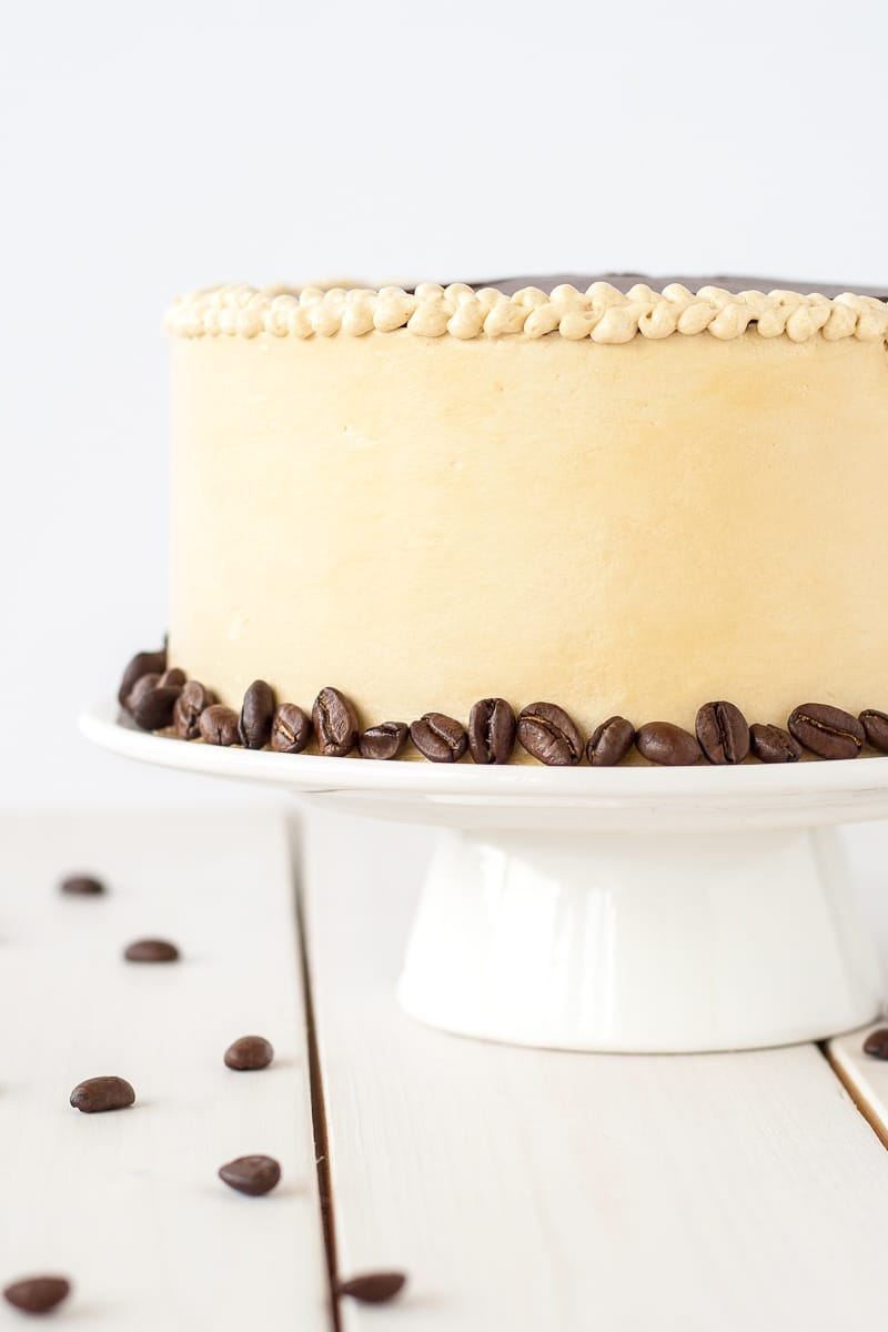 French Opera Cake Liv For Double Layer Cheese Original A Modern Take On Classic This Decadent Is Rich Chocolatey And Packed With Espresso Flavour