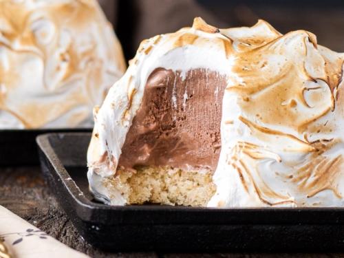 S Mores Baked Alaska Liv For Cake