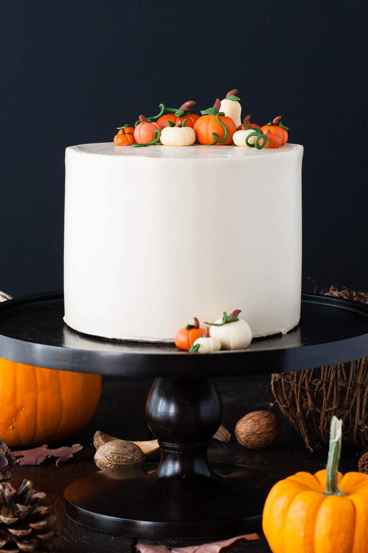 Version 1 of a Pumpkin Spice Latte Cake