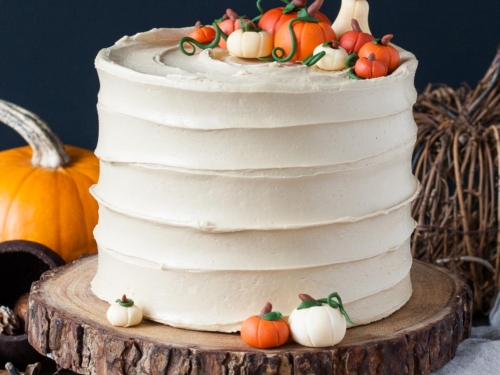 Super Pumpkin Spice Latte Cake Liv For Cake Funny Birthday Cards Online Fluifree Goldxyz