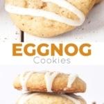 Eggnog Cookies photo collage