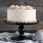Walnut Cake With Brown Sugar Buttercream