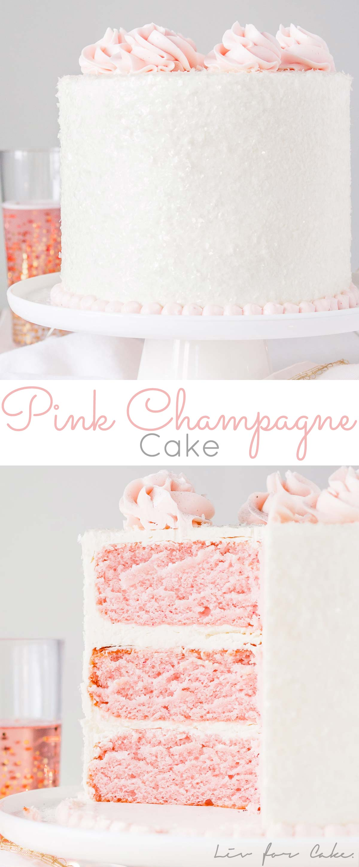 This Pink Champagne Cake Is The Perfect Way To Celebrate Any Occasion Or Holiday A