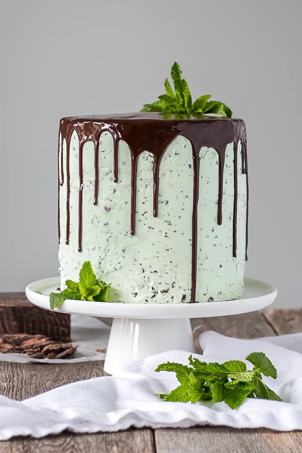 Mint Chocolate Chip Cake - Liv for Cake