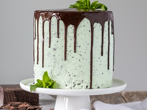 Groovy Mint Chocolate Chip Cake Liv For Cake Personalised Birthday Cards Paralily Jamesorg