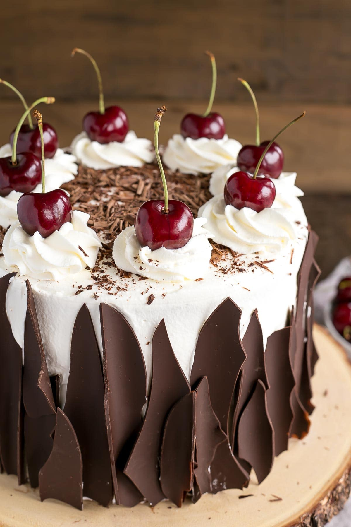 Easy Chocolate Forest Cherry Cake