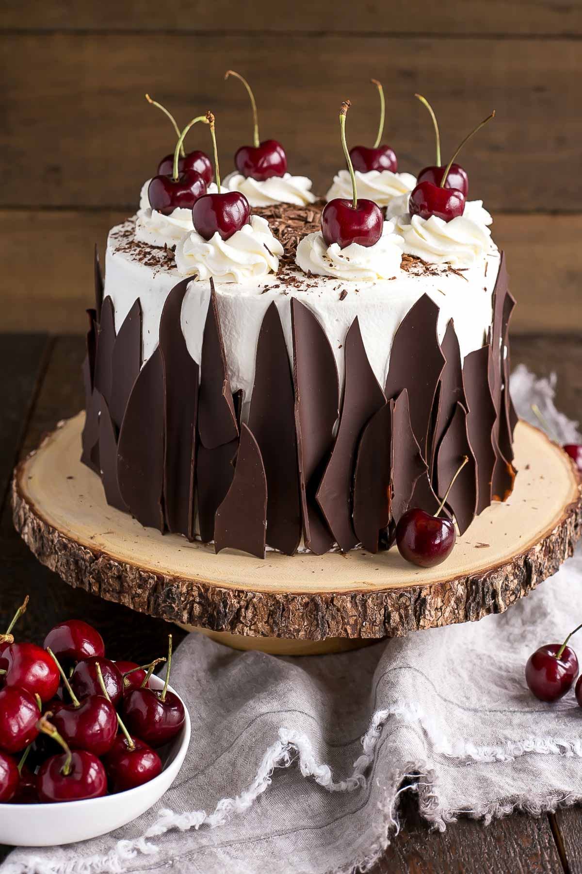 Traditional Cherry Cake Recipe
