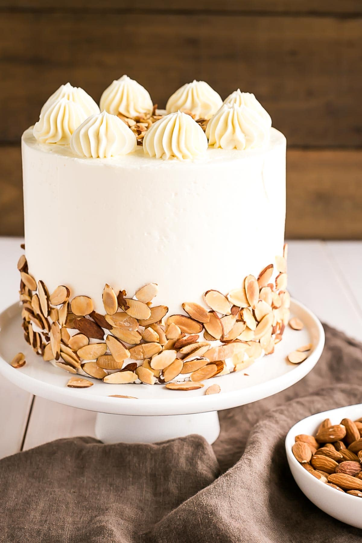 Almond Amaretto Cake