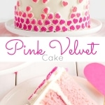 A cake photo collage