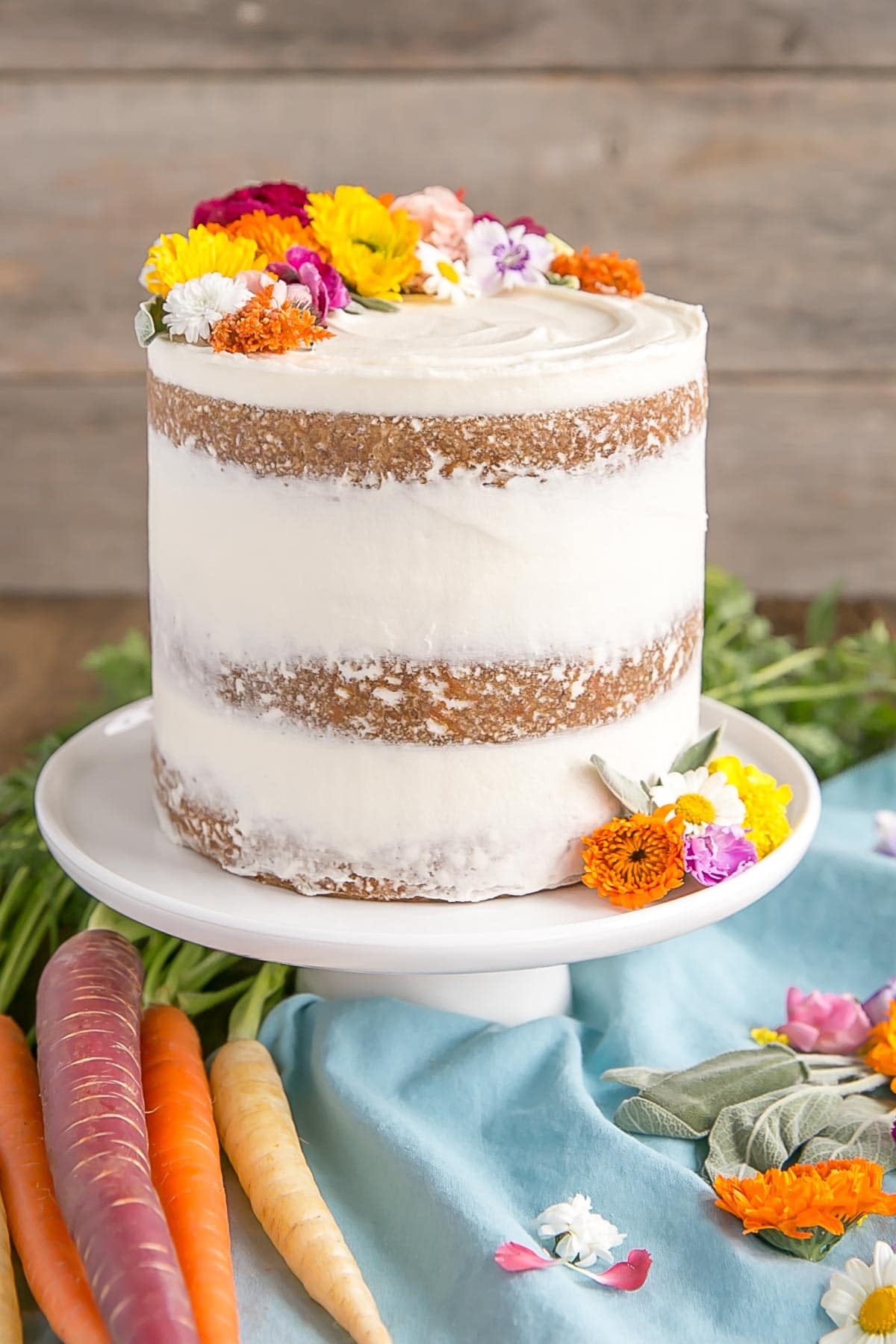 Carrot Cake with Cream Cheese Frosting | Liv for Cake