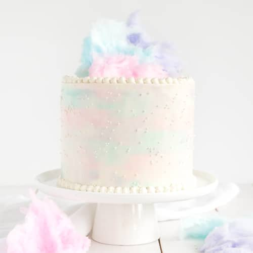 Cotton Candy Cake Liv For Cake