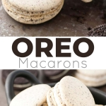 Oreo Macarons! Turn your favourite store-bought classics into something more decadent with these delicate Oreo macarons. | livforcake.com
