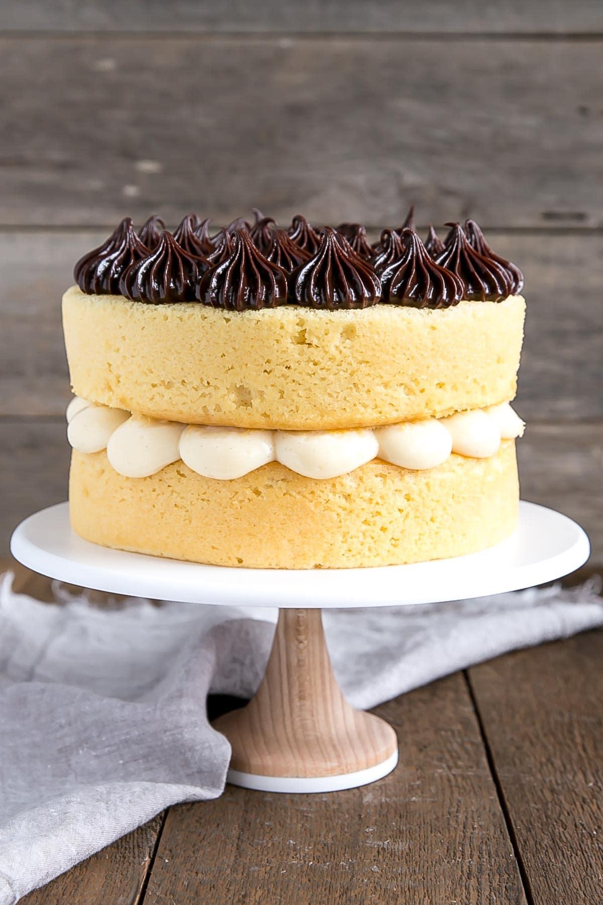 Boston Cream Pie version #1