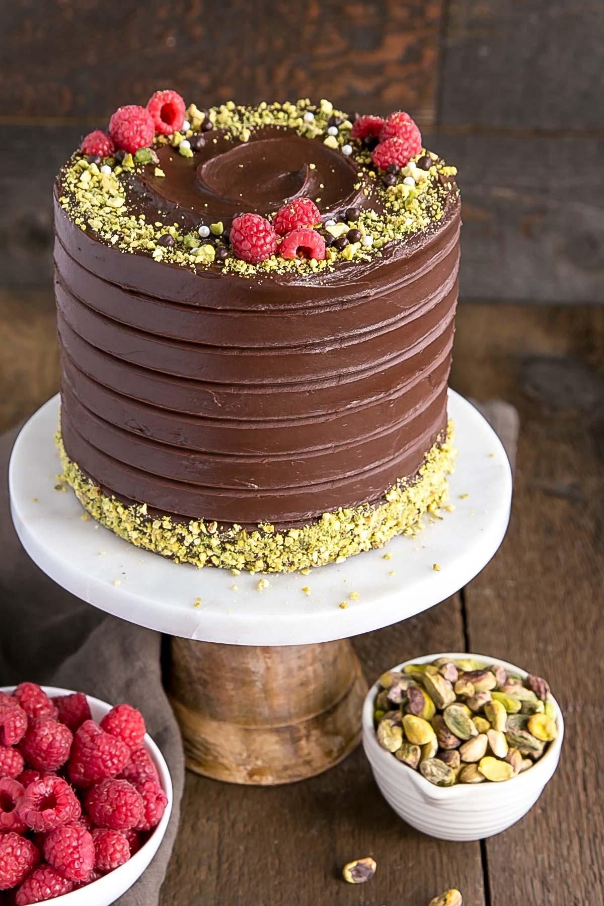 This Pistachio Cake recipe.