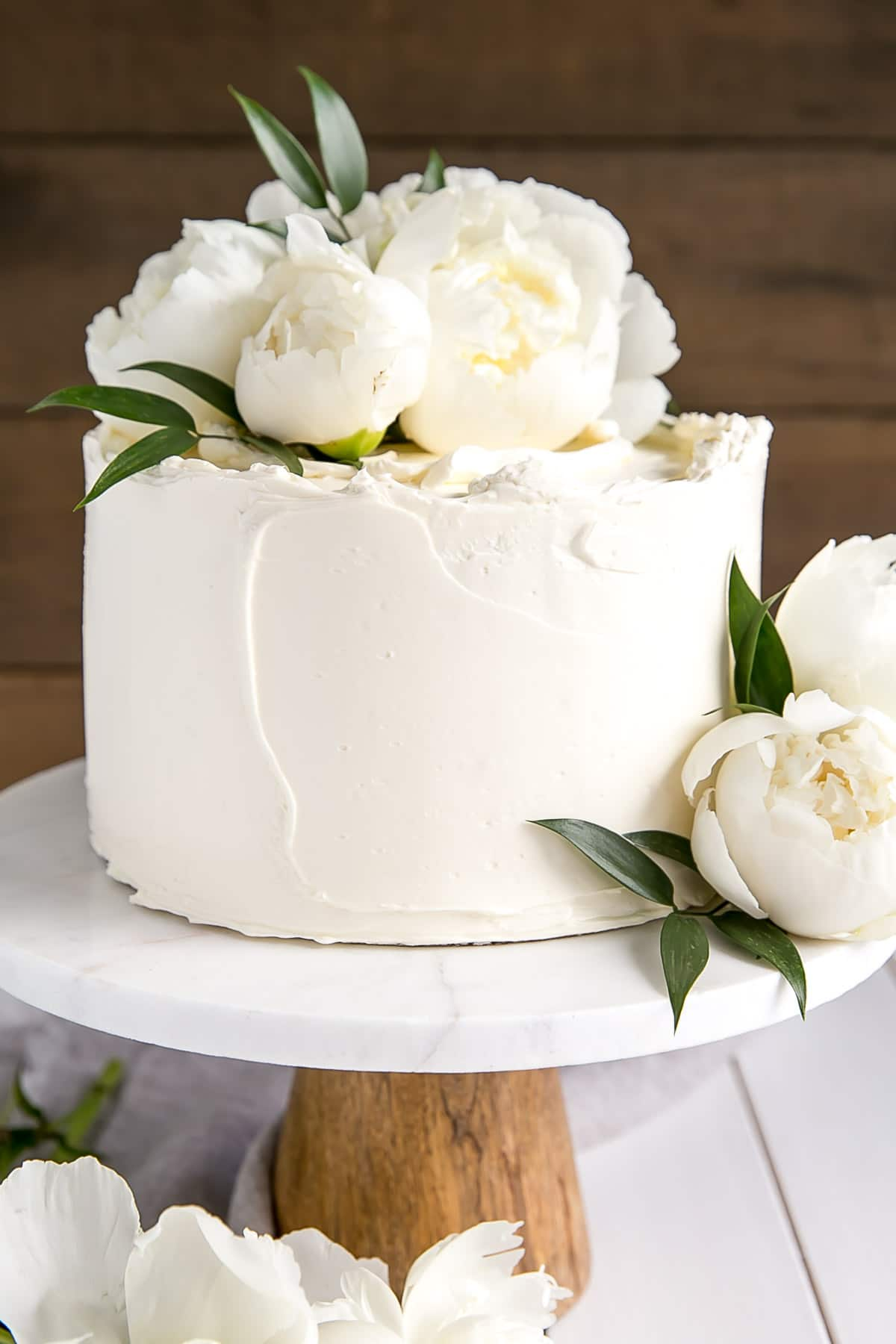Harry and Meghan's wedding Cake | Royal Wedding Cake Copycat | Lemon Elderflower Cake