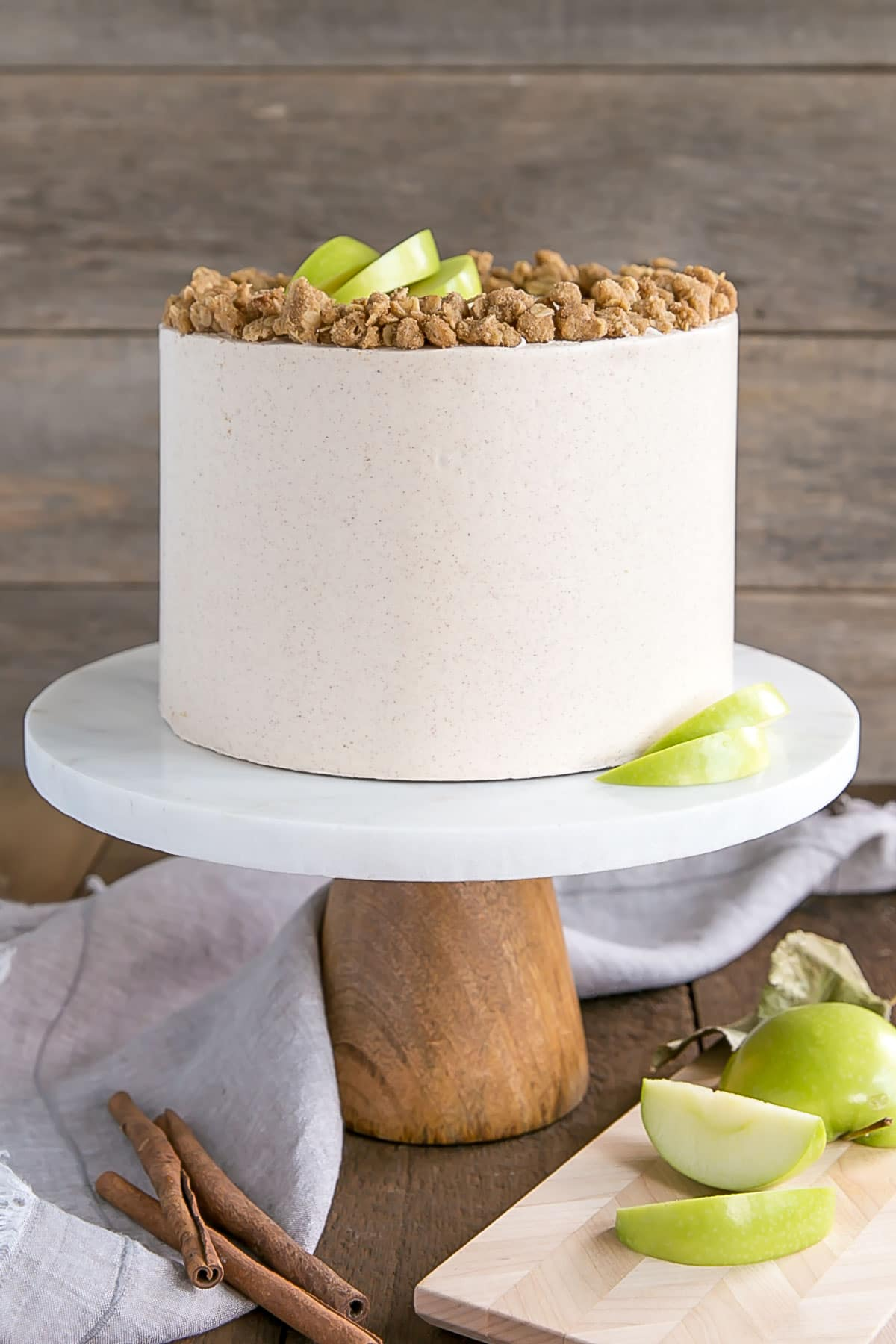 Apple Crisp Cake Liv For Cake