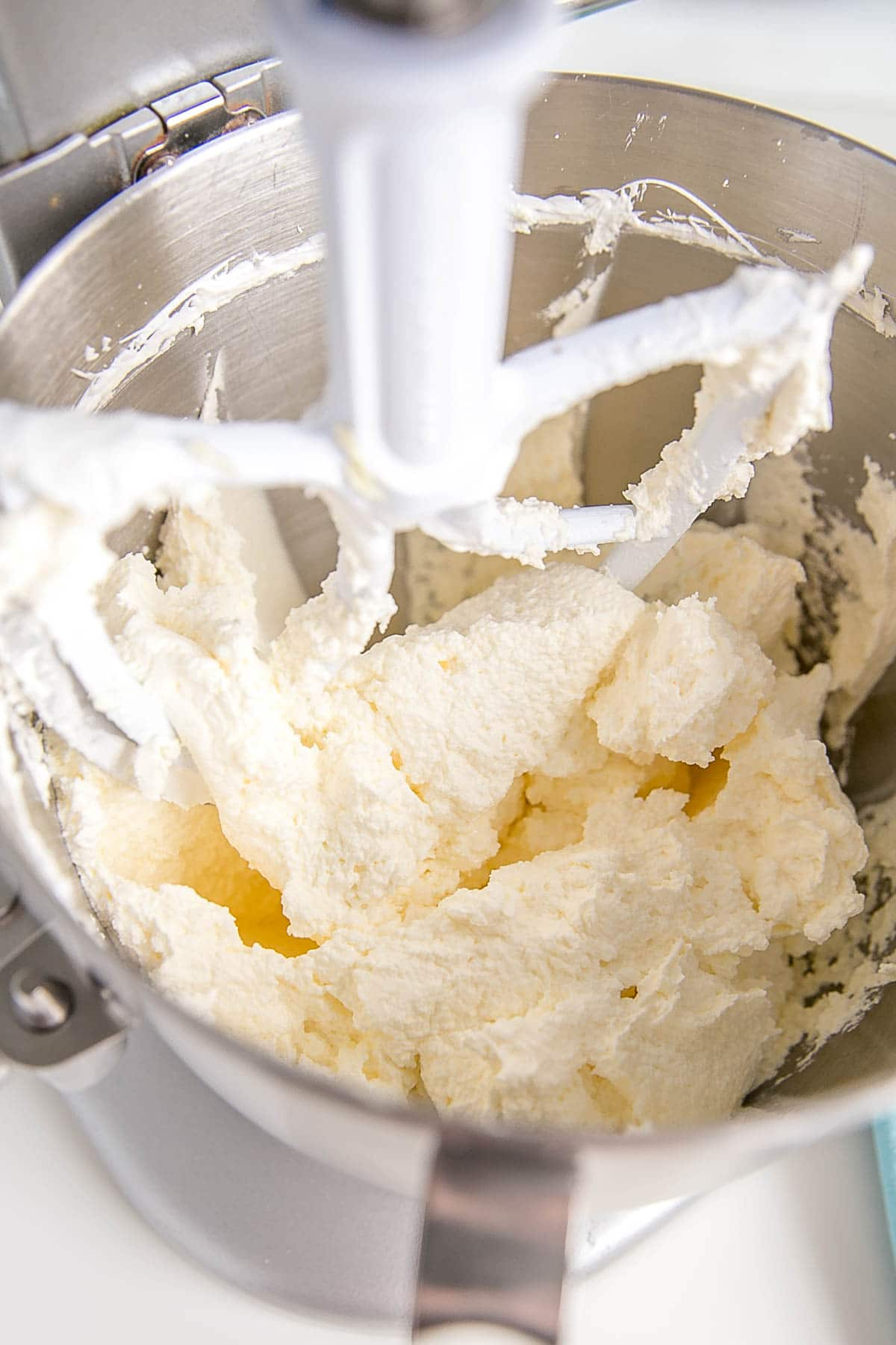 Curdled buttercream