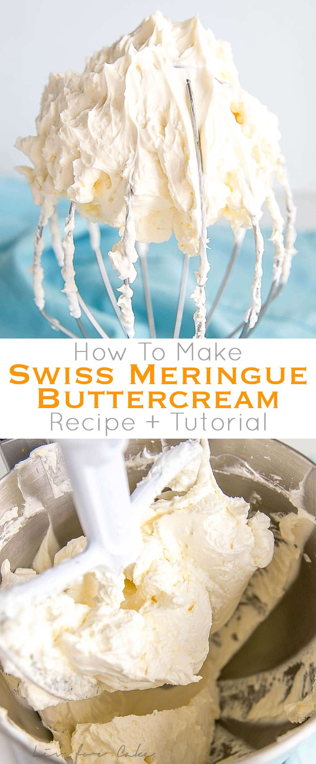 This tutorial on how to make Swiss Meringue buttercream is the only resource you'll need to make the smoothest, silkiest frosting! It includes step-by-step photos, a troubleshooting guide, and frequently asked questions. | livforcake.com