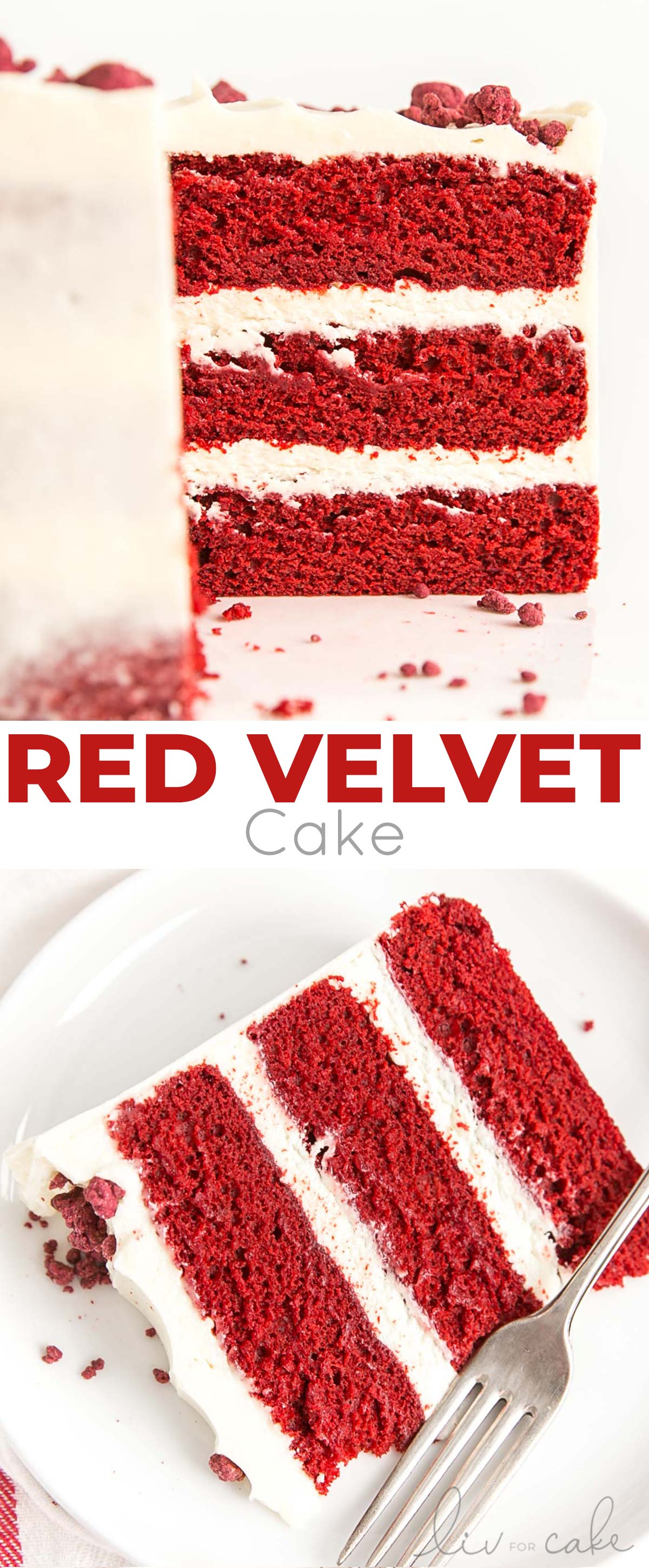 Red Velvet Cake collage